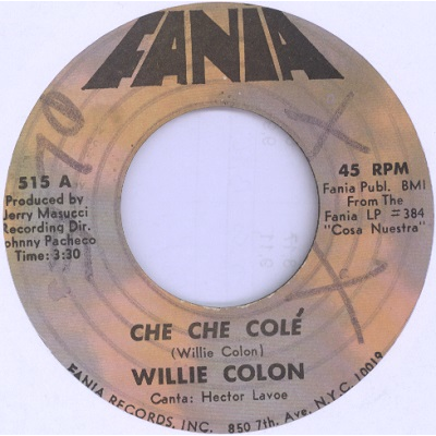 willie colon che che cole / tu no puedes conmigo