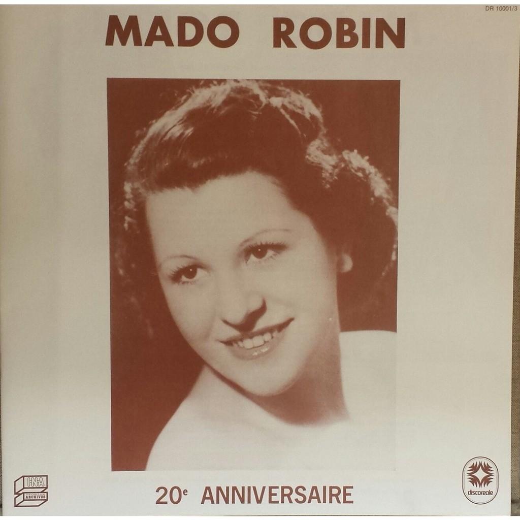 MADO ROBIN 20e Anniversaire (coffret - boxset - 3 LP by the French stratospheric colature)