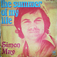 simon may - the summer of my life / the summer of my life (instrumental) - 45T SP 2 titres