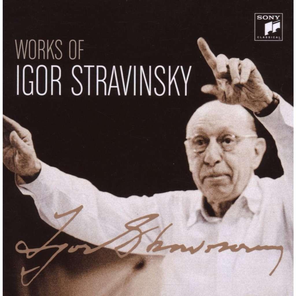 Works Of Igor Stravinsky Igor Stravinsky Columbia Symphony