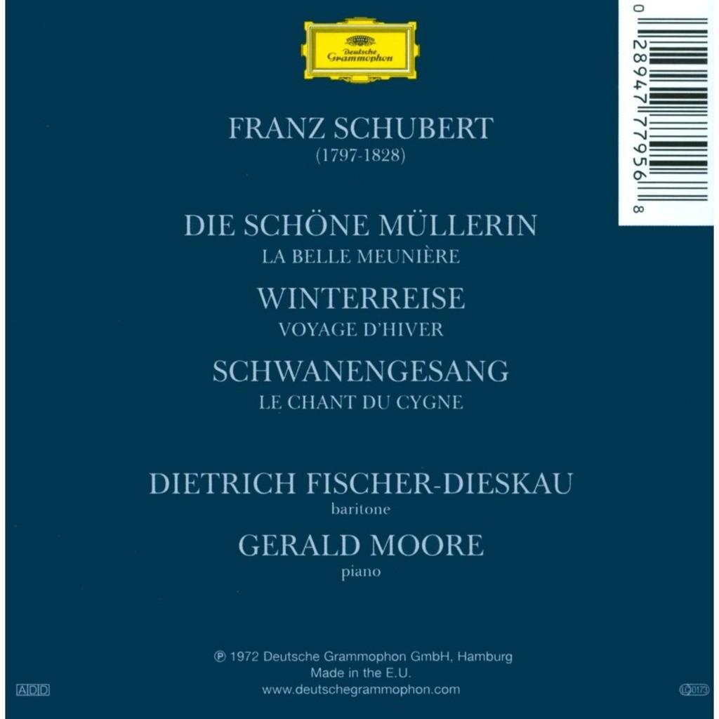 Schwanengesang Die Winterreise Die Sch/öne M/üllerin Complete Song Cycles
