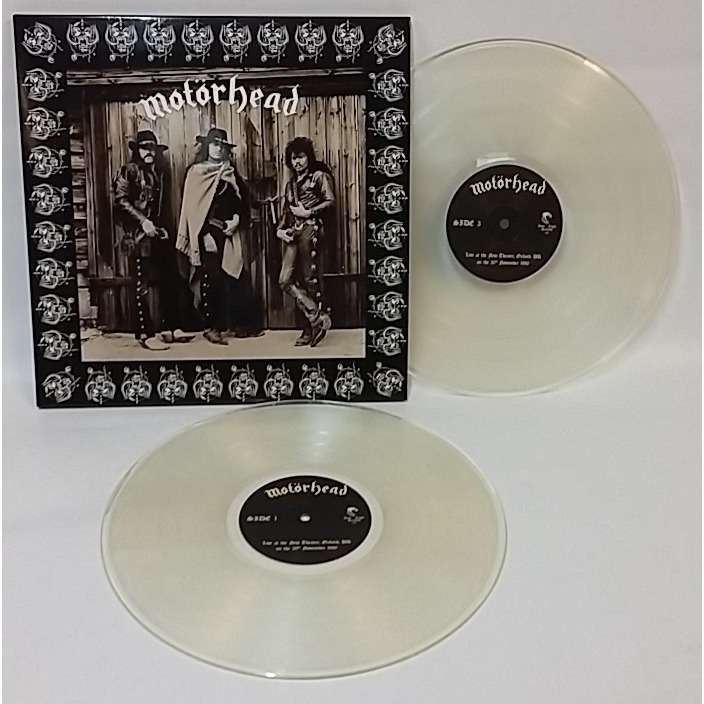 Motorhead Limited 233 Dition 2lp Clear Vinyl Edition