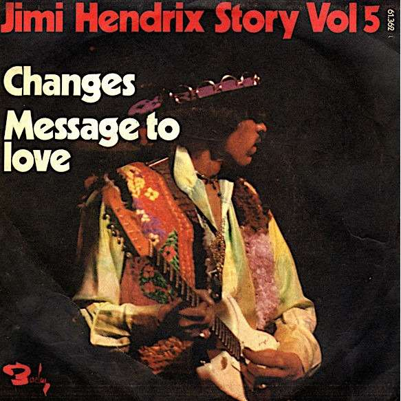 jimi hendrix story vol.5 CHANGES / MESSAGE TO LOVE