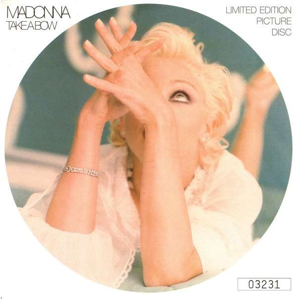 MADONNA Take a bow - picture disc