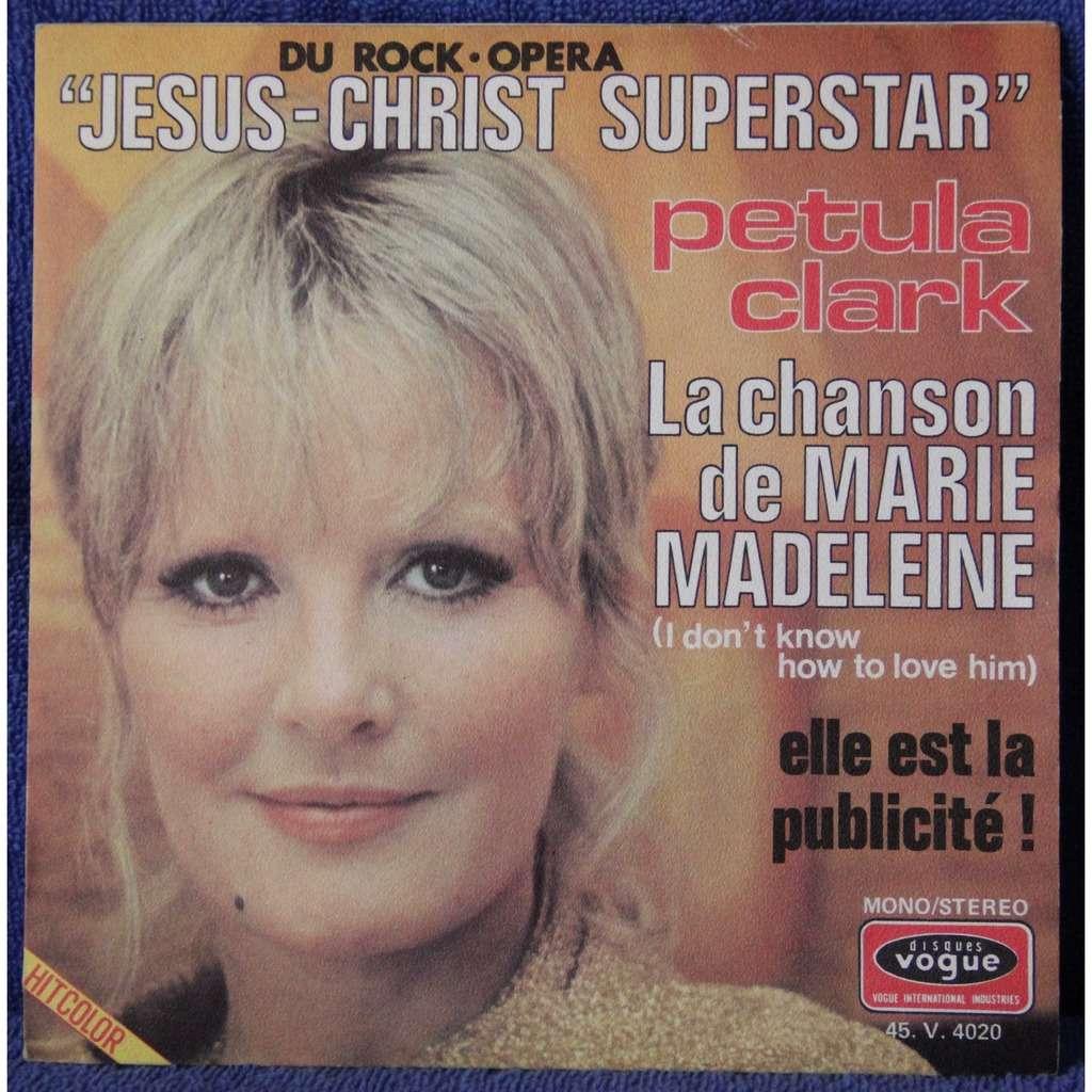 Jesus-christ superstar/la chanson de marie-