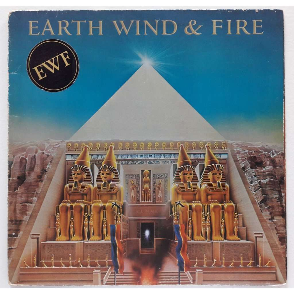 all n all earth wind fire lp gatefold 売り手 chrismed