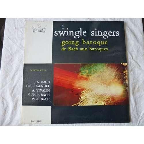SWINGLE SINGERS GOING BAROQUE DE BACH AUX BAROQUES