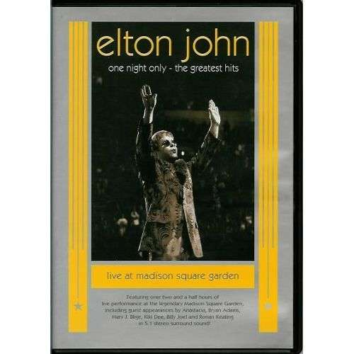 ELTON JOHN GREATEST HITS ONE NIGHT ONLY LIVE AT MSG