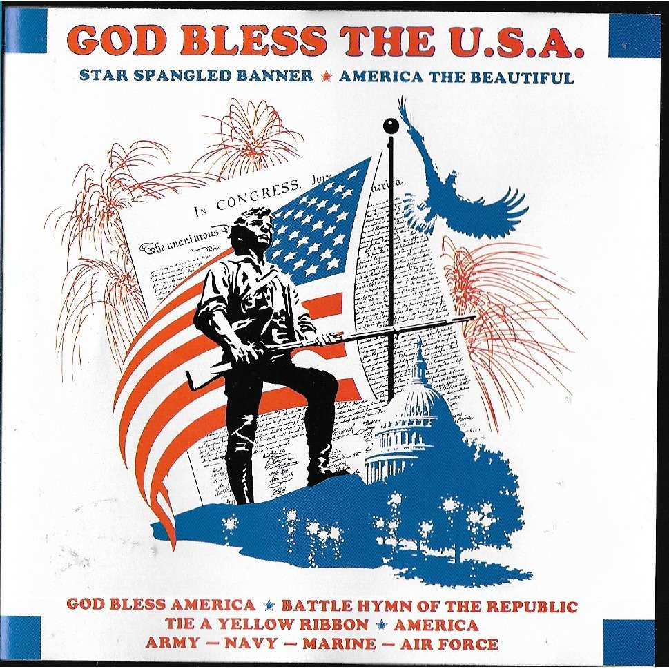 star spangled banner good bless the u.s.a