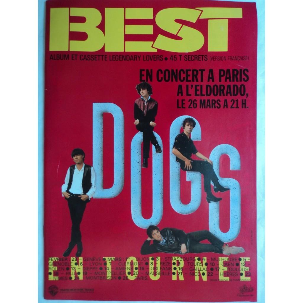 best magazine 188 Mars 1984 best magazine 188 Mars 1984 P Collins avec poster agrafé JAGGER / MOTLEY CRUE