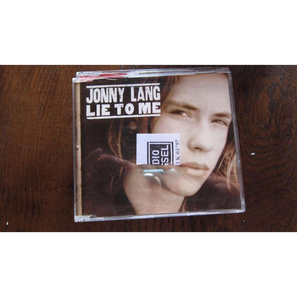 Lang, Jonny Lie To Me (Promo)