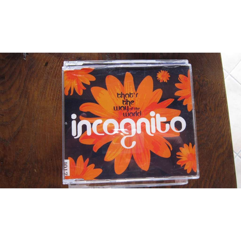 INCOGNITO that's the way of the world (3 tracks)
