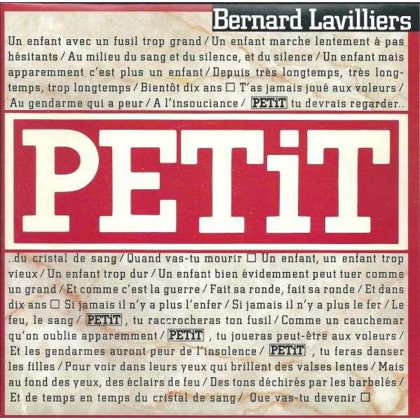 Lavilliers Bernard Petit /Nicaragua