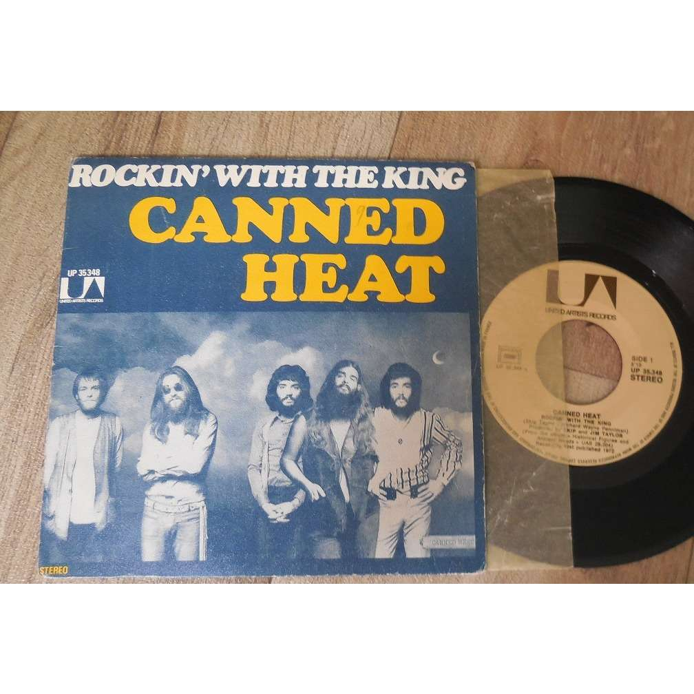 canned heat Rockin With The King