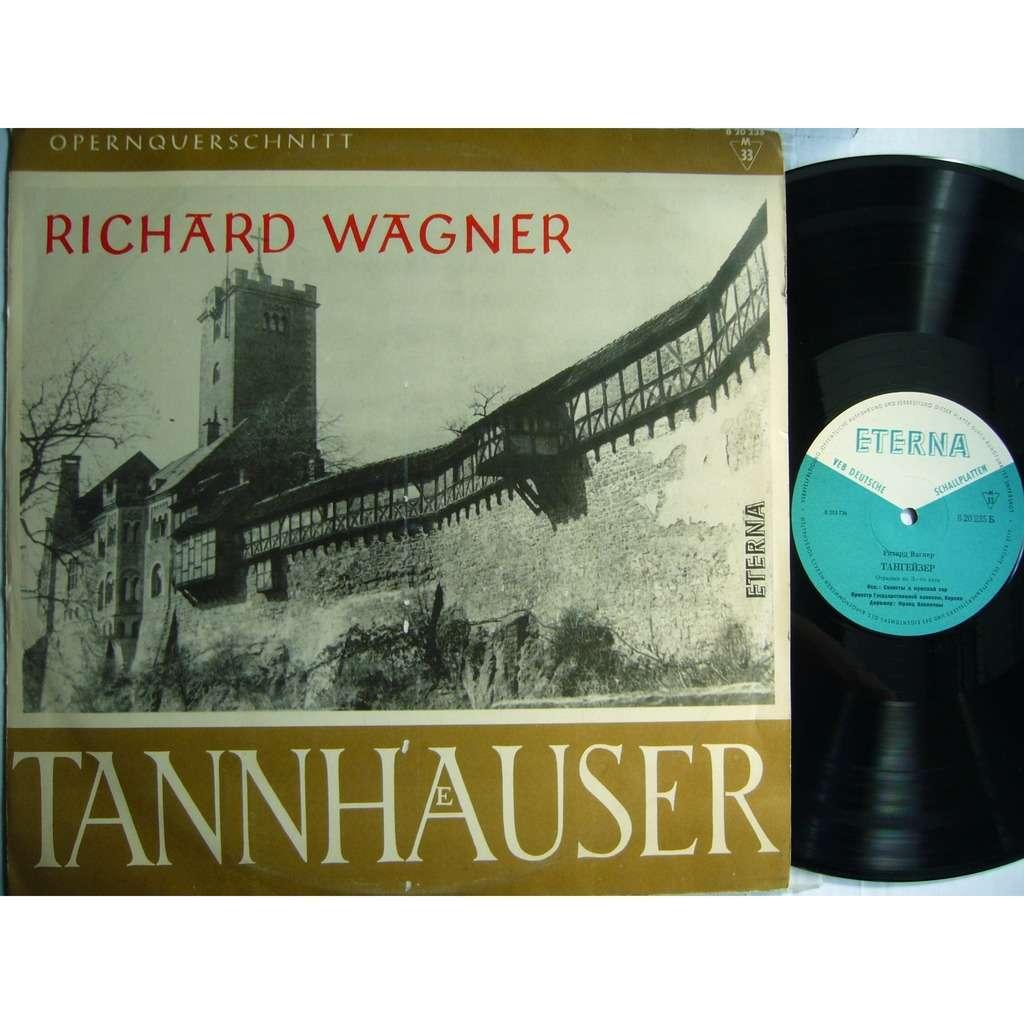 Gottlob Frick, Hans Hopf, Fischer-Dieskau Wagner Tannhäuser Excerpts Konwitschny DDR ETERNA 820 235 MINT