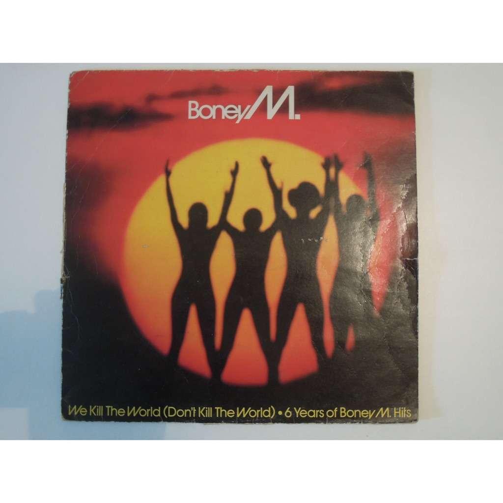 boney m 2 maxi lot, we kill the world don't kill the world & kalimba de luna