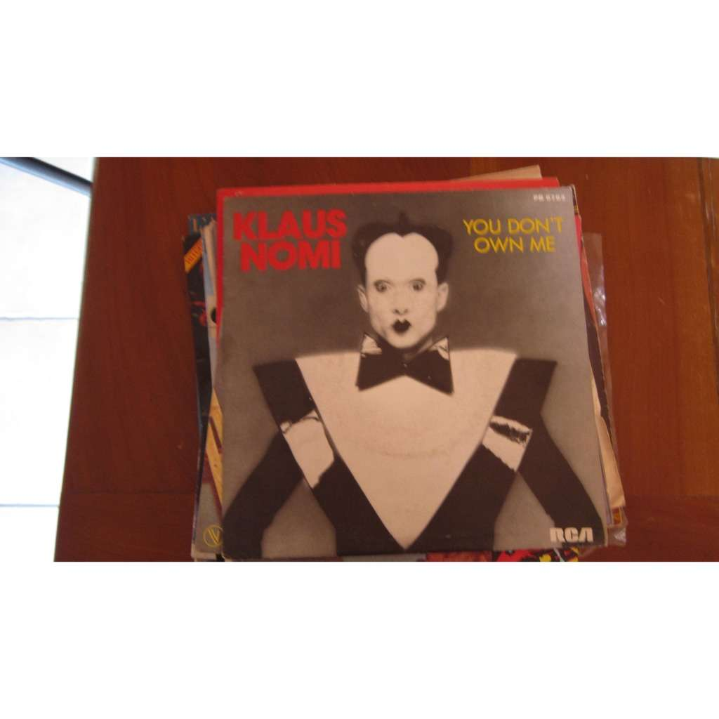 klaus nomi you don't own me / falling in love again