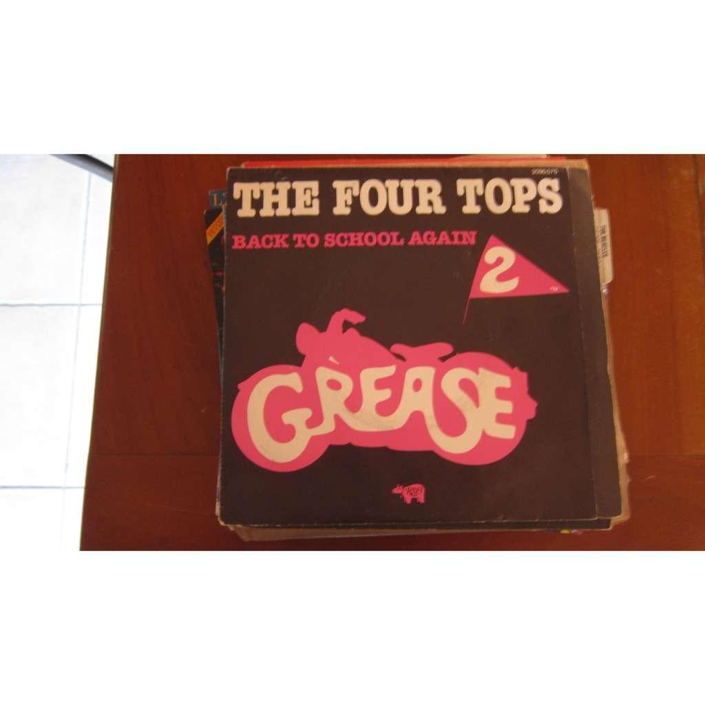 FOUR TOPS BACK TO SCHOOL AGAIN / ROCK- A - HULA-LUAU ( grease 2 )