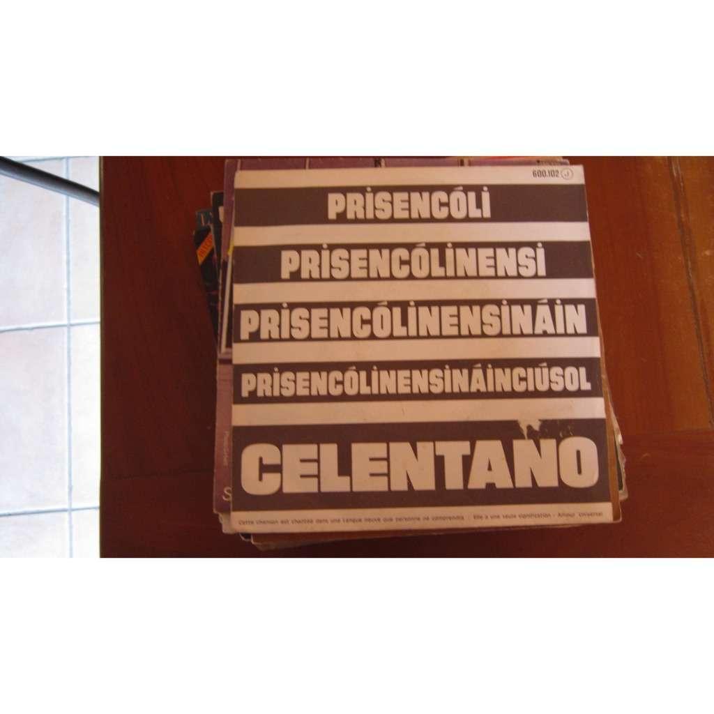 ADRIANO CELENTANO PRISENCOLI / DISC JOCKEY