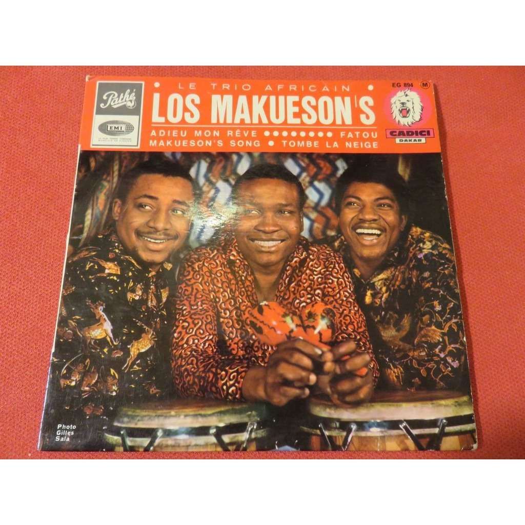 Trio Los Makueson's adieu mon reve / fatou