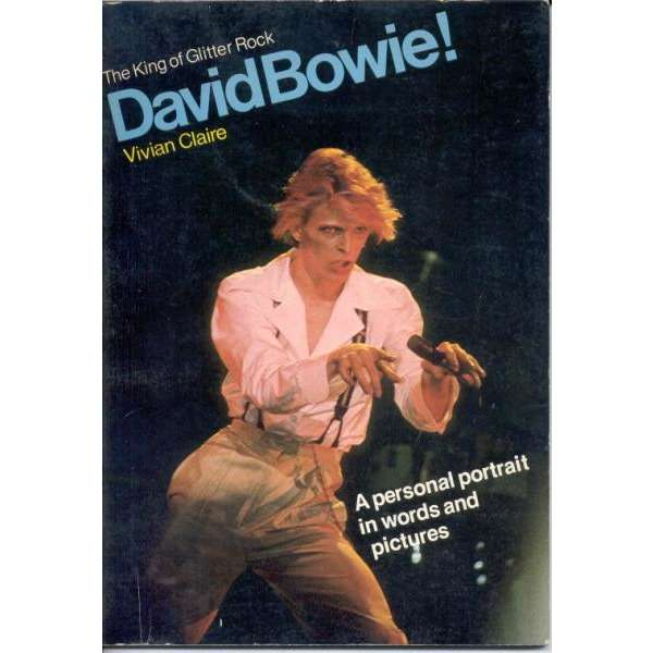David Bowie The King Of Glitter Rock (USA 1977 original 80 pag. full Bowie book)