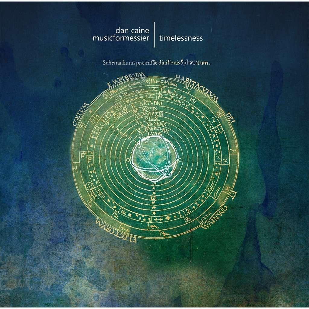 Fluttery Records : Dan Caine & musicformessier Nadira - CD