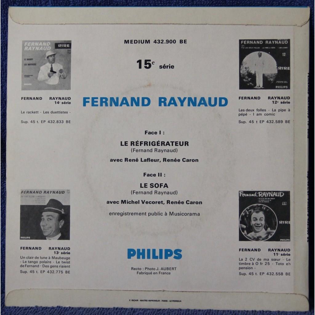 Fernand Raynaud Le Réfrigérateur - Le Sofa