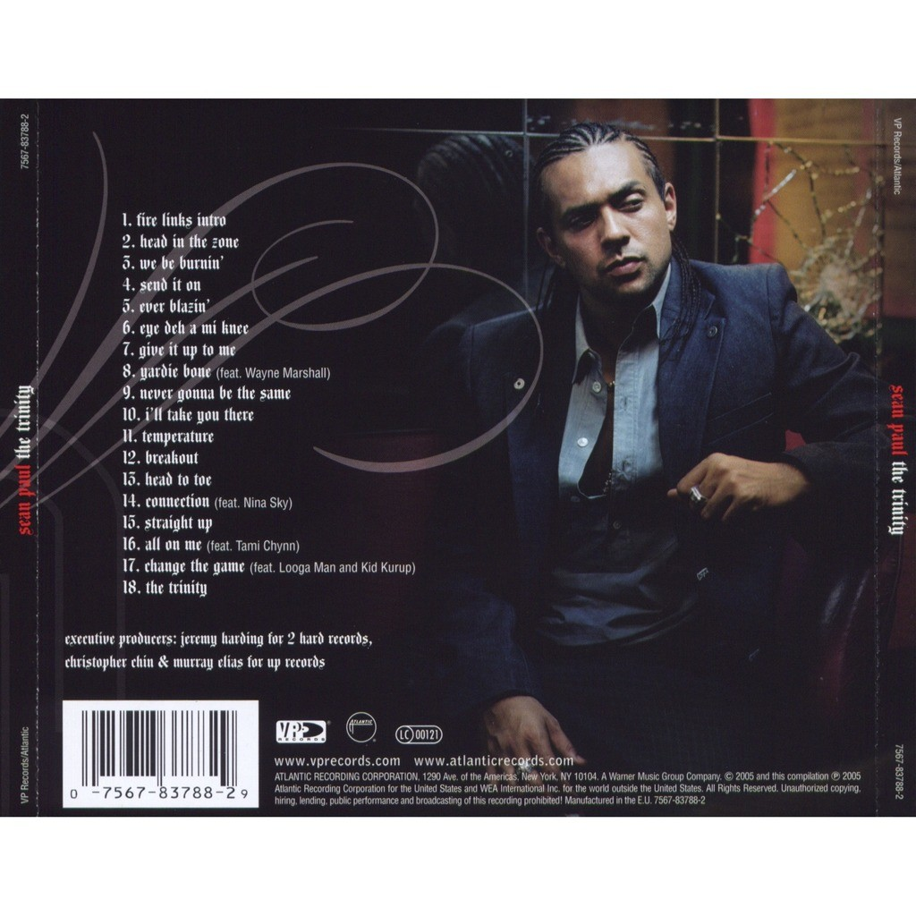 The trinity by Sean Paul, CD with coolnote