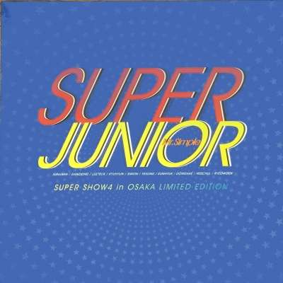 Super Junior Mr.Simple Super Show4 In Osaka Limited Edition