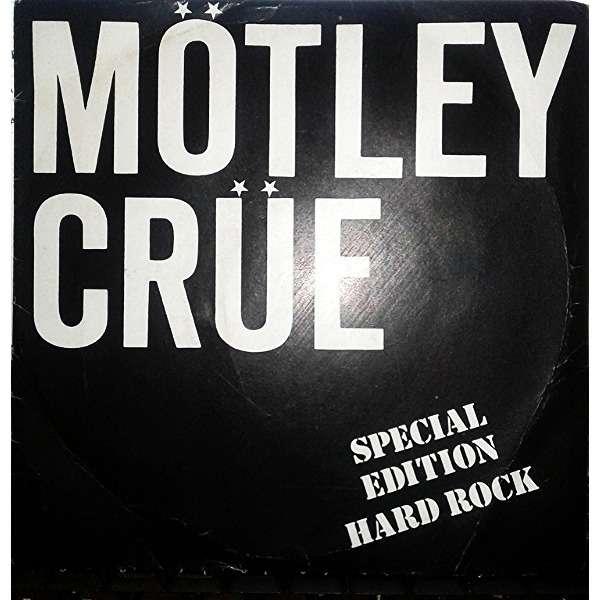 motley crue SPECIAL EDITION HARD ROCK ( GIRLS ,GIRLS,GIRLS + EXTRAITS 7 TRACKS)
