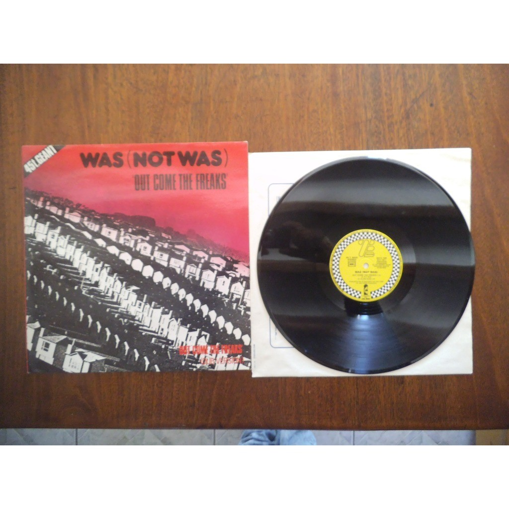WAS (NOT WAS) out come the freaks / instrumental
