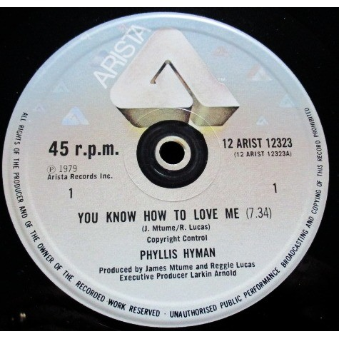 phyllis hyman you know how to love me