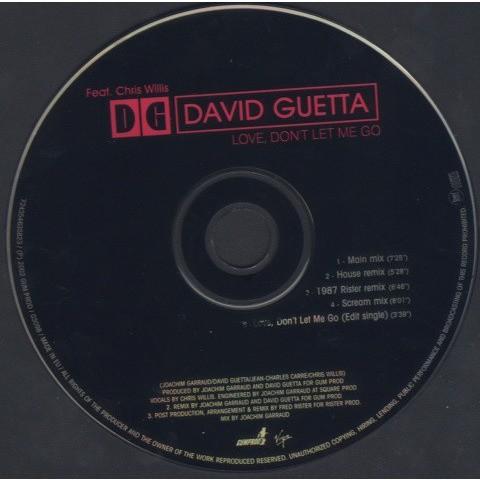 David Guetta Feat. Chris Willis  Love, Don't Let Me Go