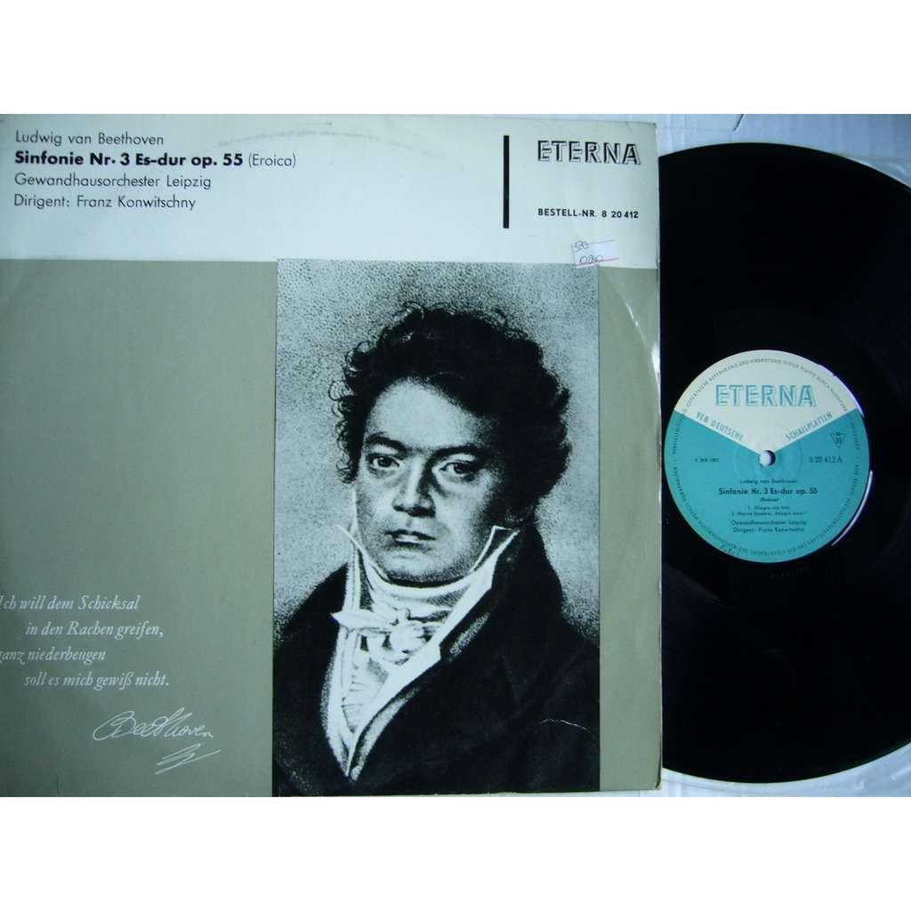 Franz Konwitschny Beethoven Symphony #3 Eroica DDR ETERNA 820 412 MINT