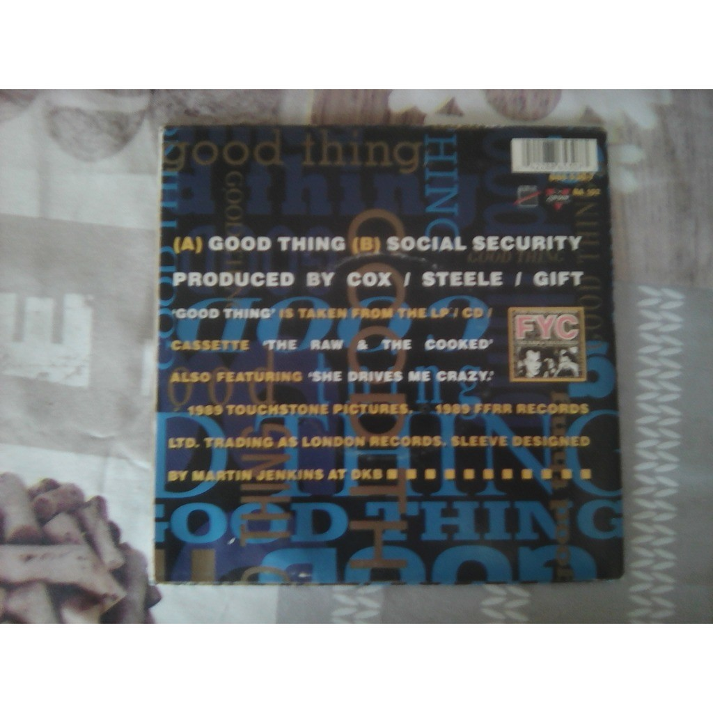 FYC* - Good Thing Social Security