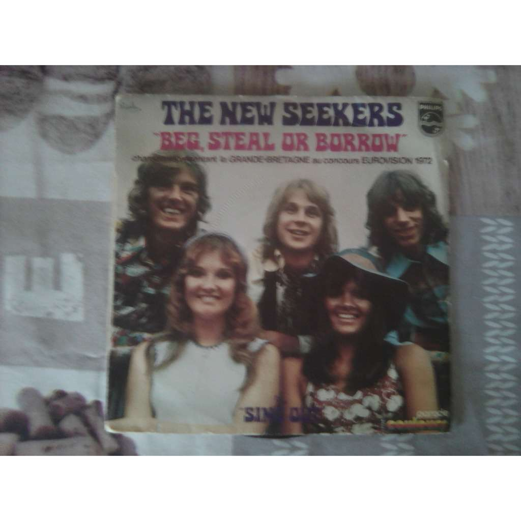 NEW SEEKERS, THE BEG,STEAL OR BORROW / SING OUT