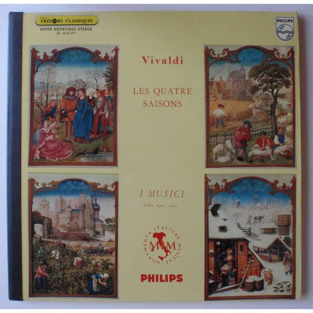 Felix Ayo Vivaldi : les quatre saisons
