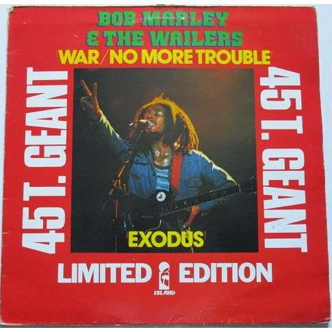 bob marley and the wailers war / no more trouble / exodus (limited edition)