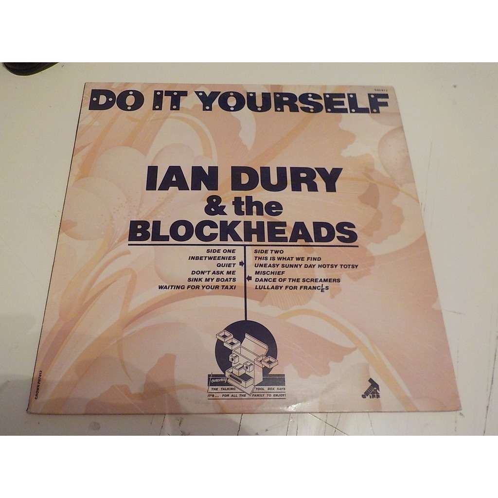 Do it yourself by ian dury and the blockheads lp with stereotomy ian dury and the blockheads do it yourself solutioingenieria Choice Image