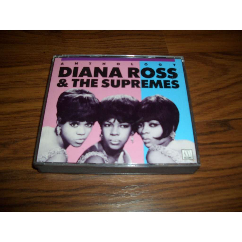 DIANA ROSS & THE SUPREMES ANTHOLOGY (2cds)