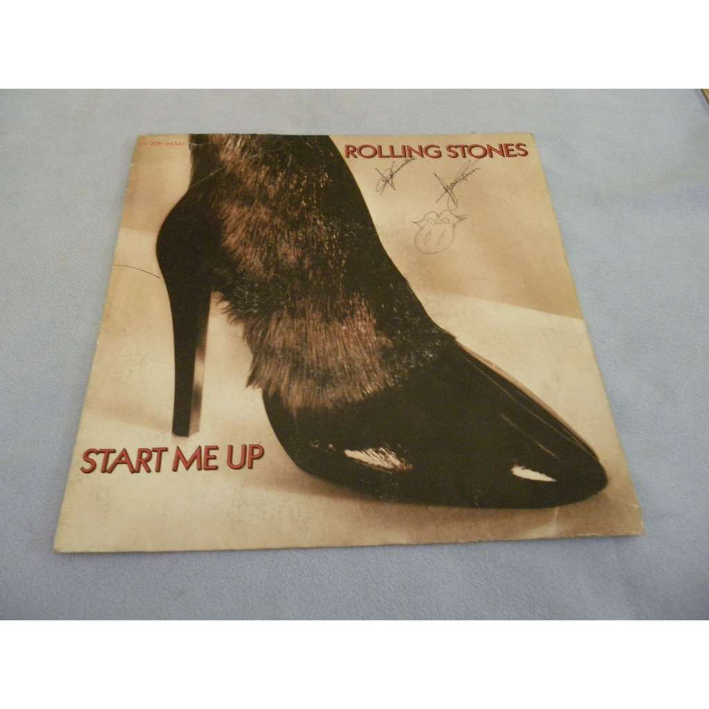 the rolling stones Start me up/No use in crying