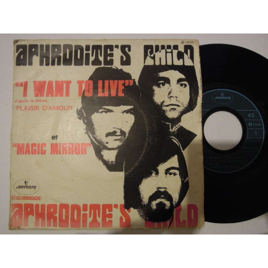 the aphrodite's child 5 sp lot, rain & tears, it's five o'clock, spring summer winter & fall, let me love let me live, i w