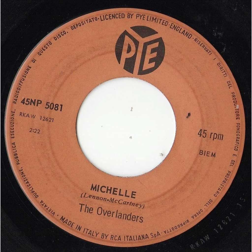 The Overlanders / Beatles Michelle (Italian 1966 2-trk 7single on Pye lbl)
