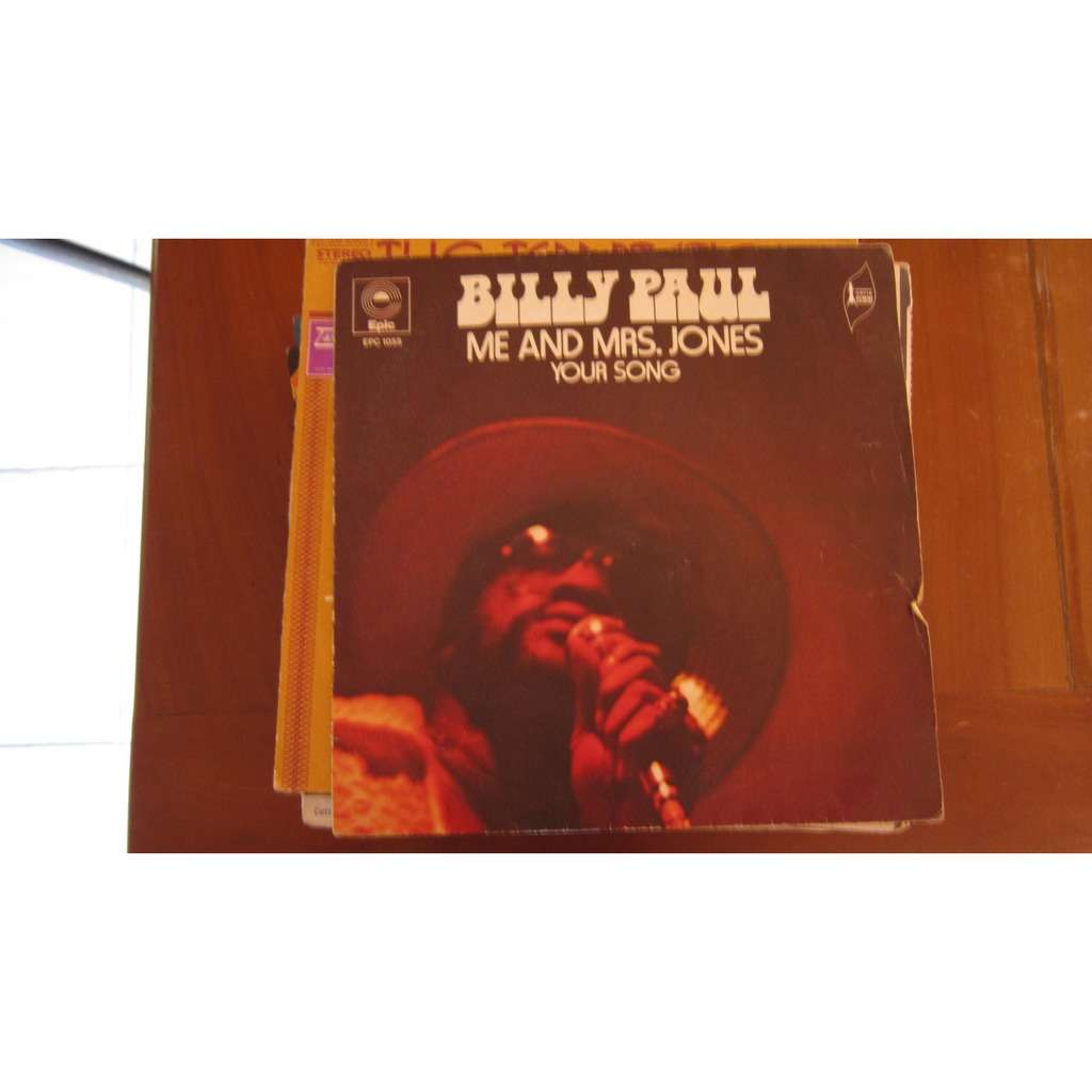 PAUL BILLY ME AND Mrs. JONES / YOUR SONG