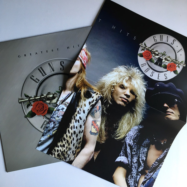 Guns N' Roses Greatest Hits (lp) Ltd Edit With Poster -E.U