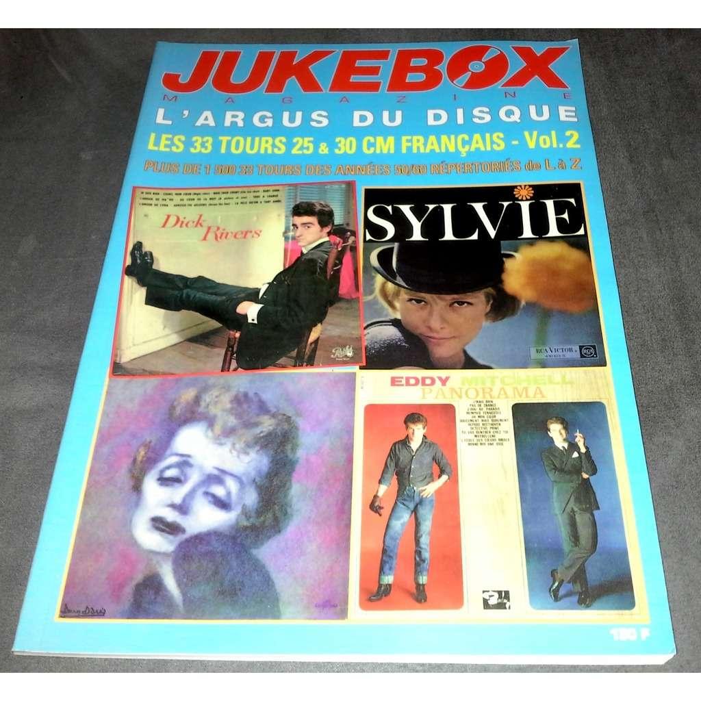 jukebox magazine l'argus du disque les 33 tours 25 & 30 cm français vol 2
