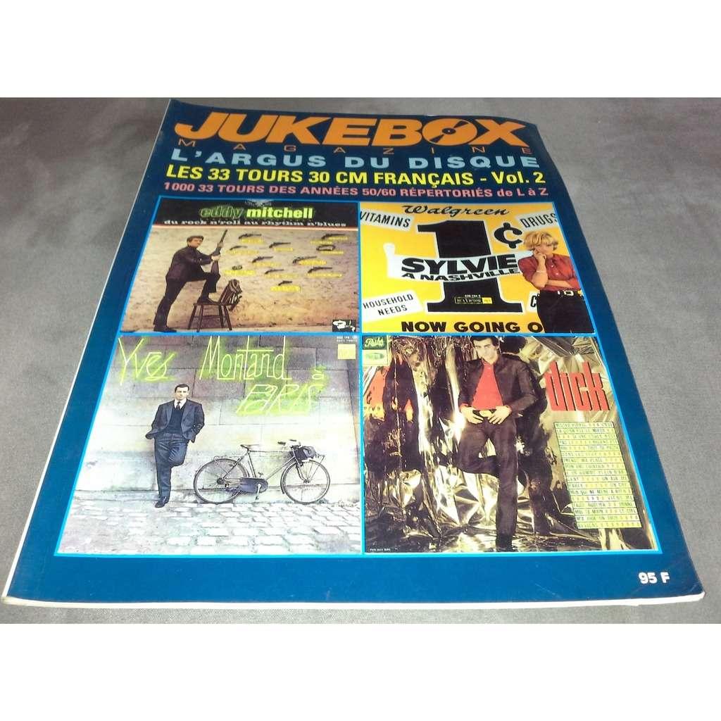 jukebox magazine l'argus du disque les 33 tours 30 cm français vol 2