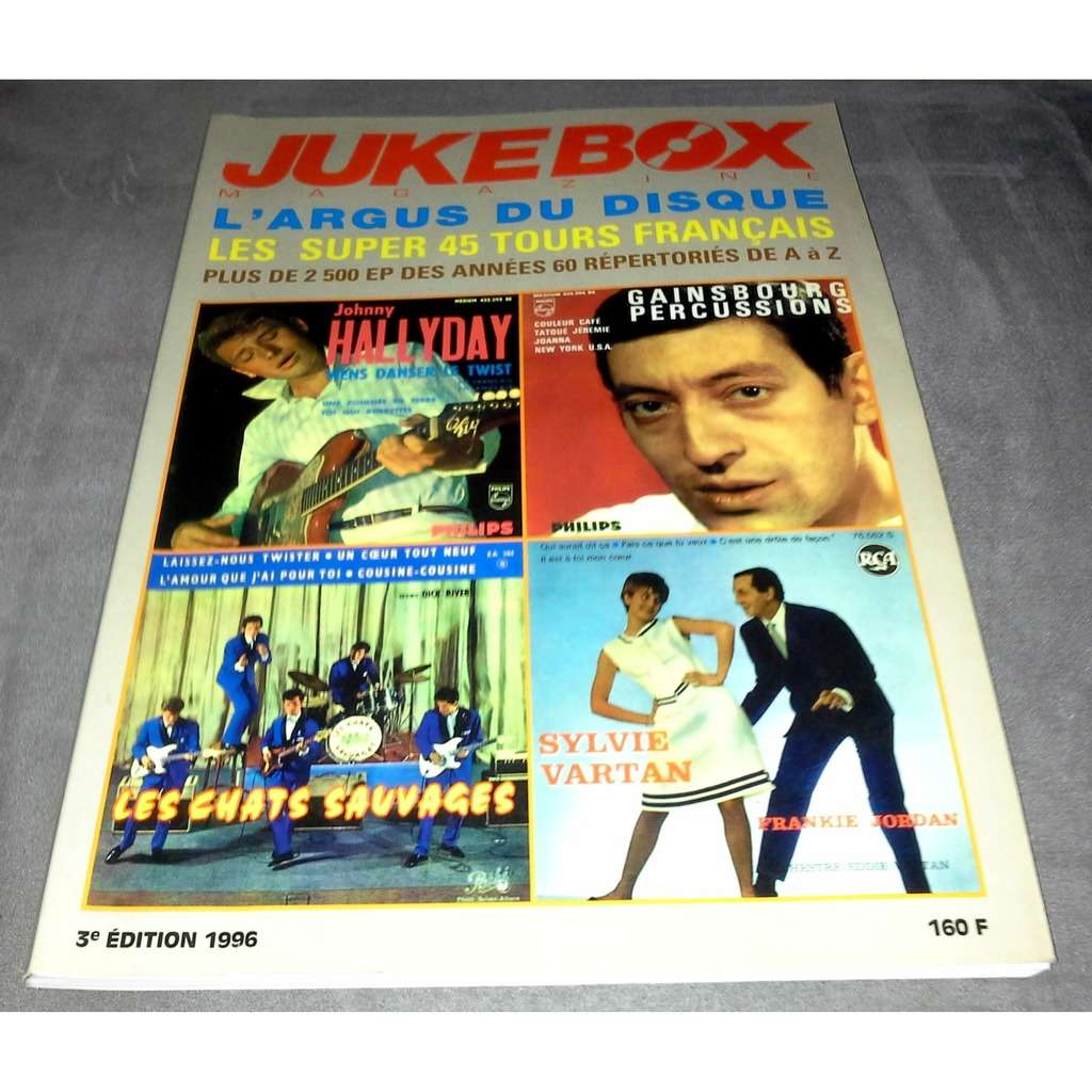 jukebox magazine l'argus du disque - les super 45 tours français