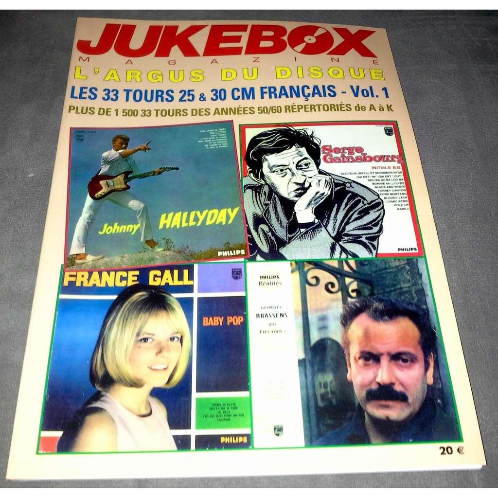 jukebox magazine l'argus du disque - les 33 tours 30 cm étrangers VOL 1