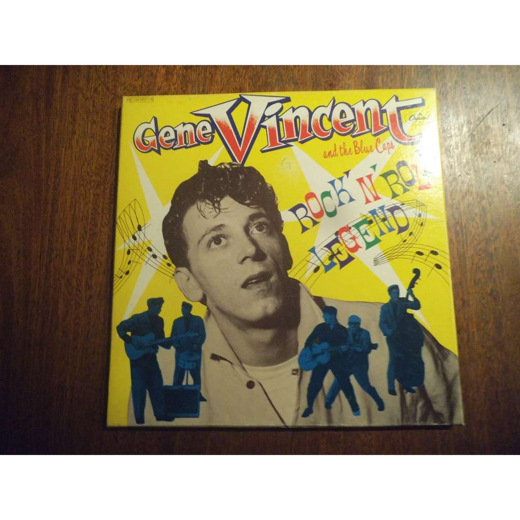 Gene VINCENT And the Blue Caps Rock'n'roll Legend
